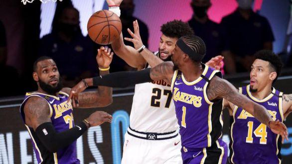 NBA Playoffs. Los Nuggets mueren de pie y los Lakers vuelven a las Finales