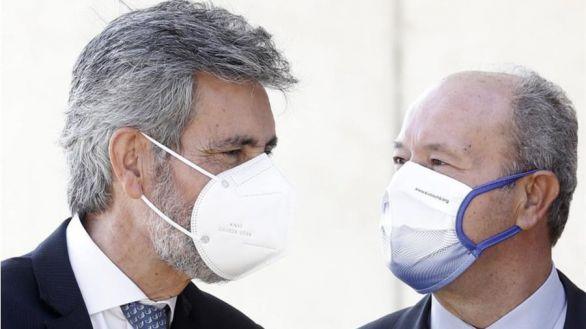 Sigue el pulso entre el Gobierno y el CGPJ: Lesmes rechazó retrasar el acto en Barcelona