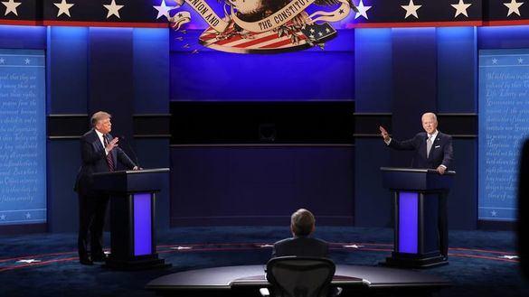 Trump intenta desorientar a Biden en el debate más caótico de la historia