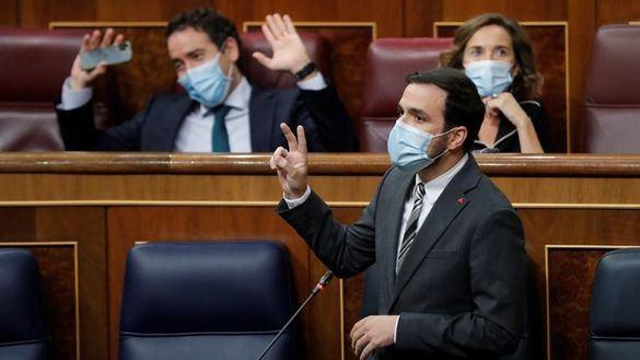 Alberto Garzón justifica su ataque a Felipe VI: