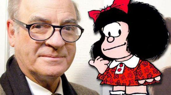 Muere Quino, padre de Mafalda