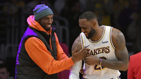 NBA Finals. LeBron desvela el mensaje que le mandó Kobe Bryant al fichar por los Lakers