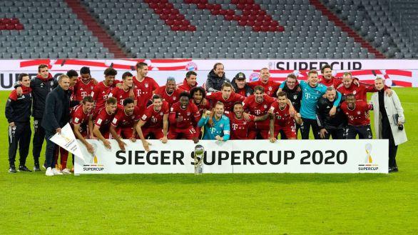 Supercopa. El Bayern, campeón con un gol de rebote ante el Dortmund   3-2