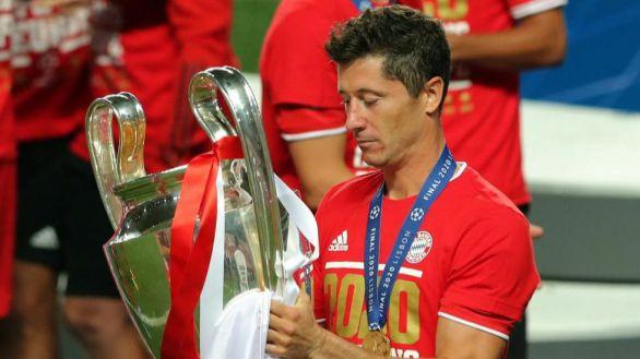 Liga de Campeones. El Bayern copa los premios con Lewandowski de MVP