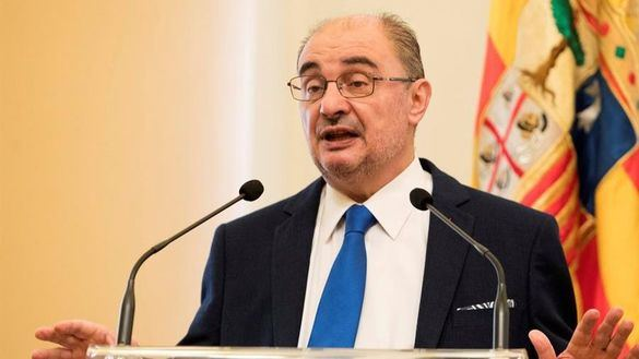 Javier Lambán, ingresado por una indisposición