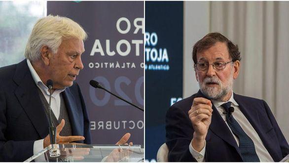 Felipe González y Rajoy piden pactar ante la pandemia y defienden al Rey