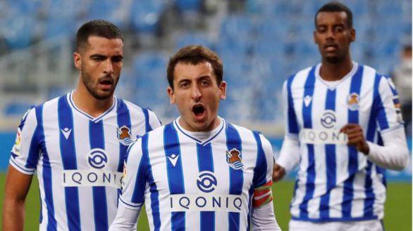 La Real golea para acabar con el maleficio contra el Getafe en casa  3-0