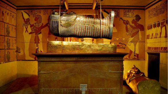 La exposición dedicada a Tutankamón y sus tesoros podrá visitarse hasta enero