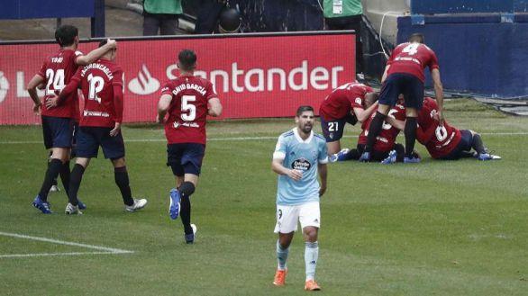 Sabor argentino en el triunfo de Osasuna sobre el Celta |2-0
