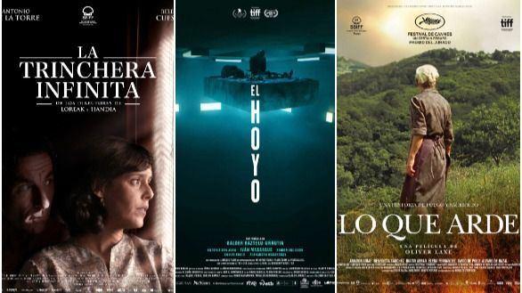 La trinchera infinita, El hoyo y Lo que arde, preseleccionadas para los Óscar