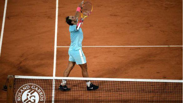 Roland Garros. Nadal celebra su centenario en París con un pase a semifinales
