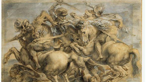 Nuevas pruebas sobre el Santo Grial del arte: Da Vinci no pintó La batalla de Anghiari