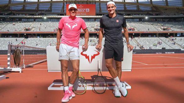 Federer y Djokovic ensalzan la proeza de Nadal