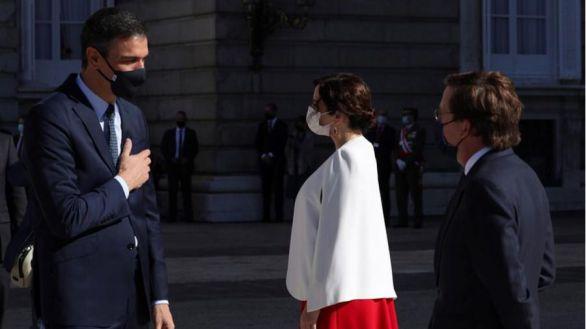 Ovación al Rey y abucheos al Gobierno en la Fiesta Nacional
