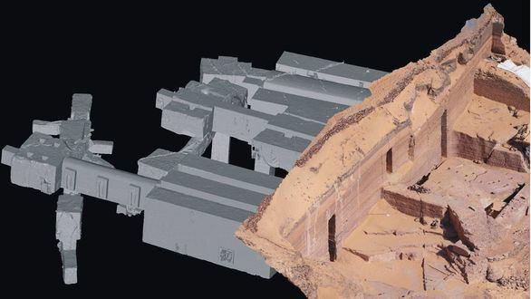 Un recorrido virtual en 3D por tres tumbas de la necrópolis de Qubbet el-Hawa en Asuán
