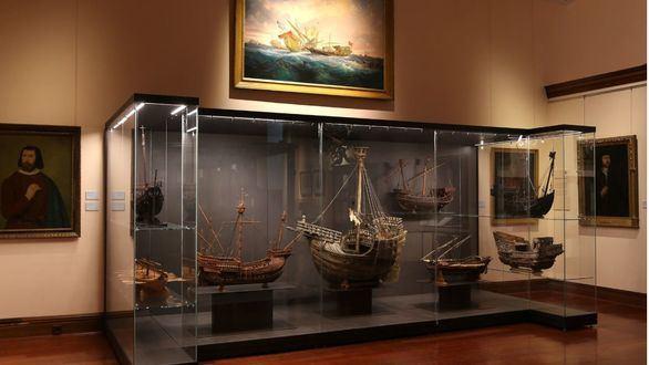 El Museo Naval rehabilita la historia naval española en sus nuevas instalaciones