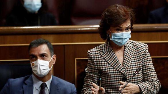 Bronco cara a cara entre Gamarra y Calvo con interrupciones, gritos e insultos