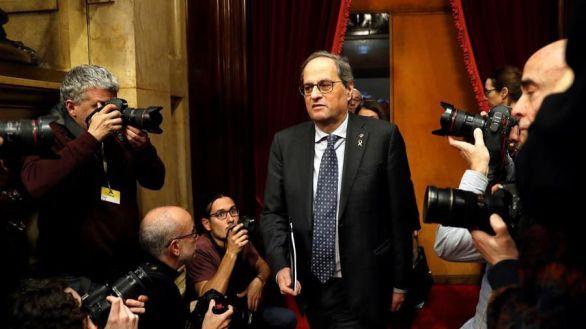 El TSJC acorta la inhabilitación a Torra y le mantiene la pensión de expresident