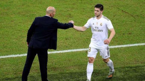 Zidane se harta: