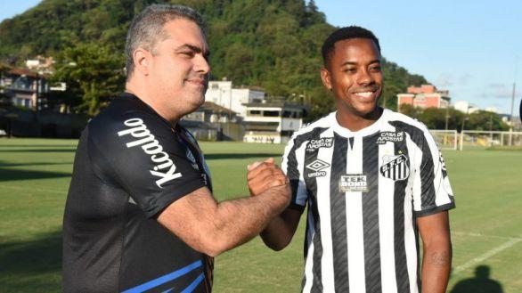 El Santos suspende el fichaje de Robinho por la sentencia de violencia sexual del jugador