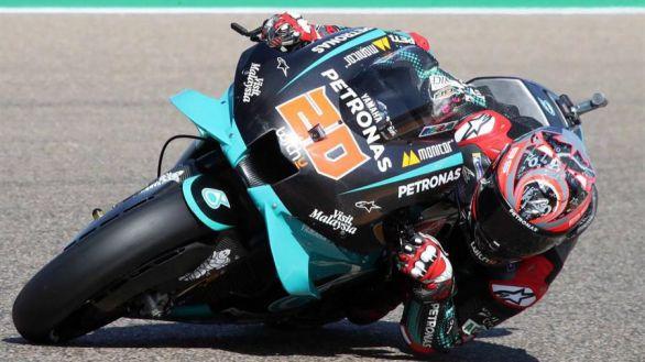 GP Aragón. Quartararo logra la 'pole' tras pasar por el médico