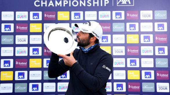 Golf. El español Otaegui se proclama campeón