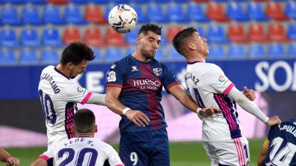 Huesca y Valladolid siguen sin poder ganar | 2-2