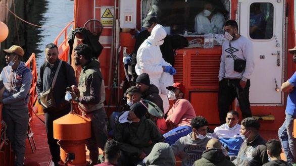 Canarias recibe en siete días tantos inmigrantes como en todo 2019
