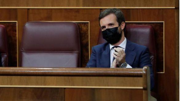 Casado responderá a Vox en la moción de censura, que el PP no apoyará