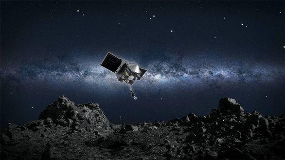 Así es la arriesgada maniobra con la que la NASA ha recogido polvo de un asteroide
