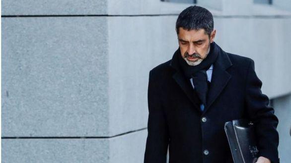 Josep Lluis Trapero a su llegada a la Audiencia Nacional este viernes