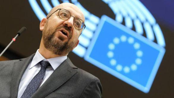 El presidente del Parlamento europeo, Charles Michel.