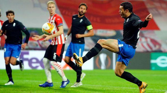 Europa League. El Granada remonta al PSV e impresiona | 1-2