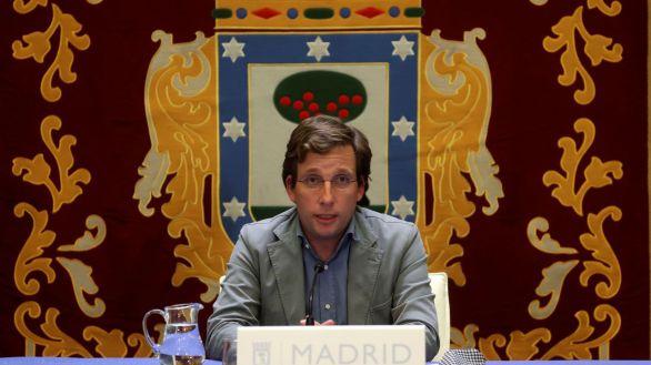 El alcalde de Madrid, José Luis Martínez Almeida, este viernes.