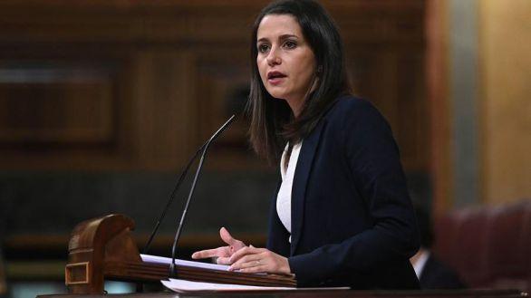 La presidenta de Cs Inés Arrimadas.