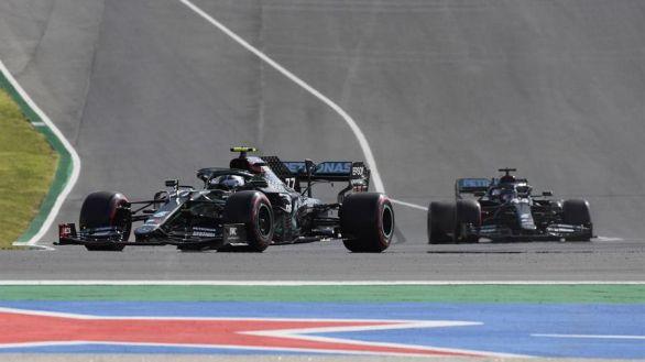 GP Portugal. Hamilton amplía su récord de 'poles' in extremis