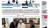 Las portadas de los periódicos de este domingo 25 de octubre