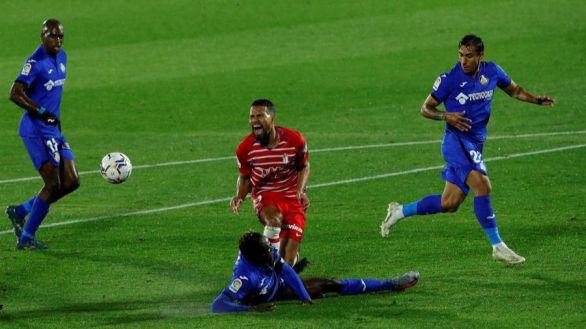 El Granada doblega al Getafe en la batalla entre rebeldes | 0-1