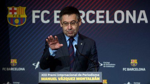 Bartomeu decide no dimitir y pide a la Generalidad retrasar la moción de censura