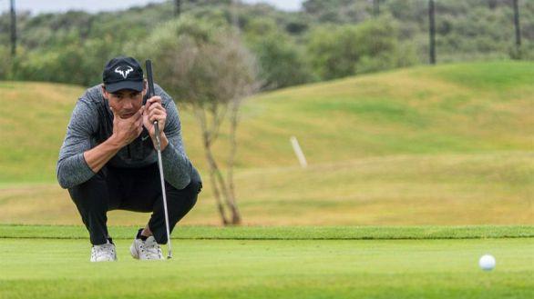 Golf. Rafa Nadal acaba sexto en su debut en un torneo profesional