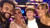 Los jurados de 'Idol Kids': Carlos Jean, Isabel Pantoja y Edurne, junto con el asesor Carlos Marco.