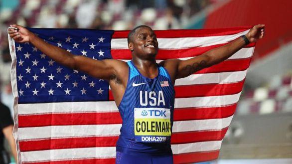 Coleman, 'heredero' de Bolt en los 100 metros lisos, suspendido dos años