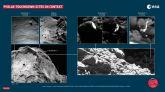 Descubierto el lugar del segundo aterrizaje de Philae en una cresta en forma de calavera