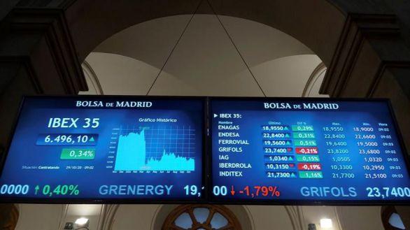 La Bolsa española regresa a niveles de marzo tras perder un 0,97%