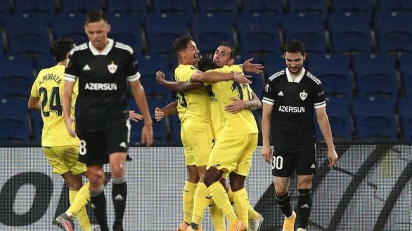 Europa League. El Villarreal remonta al Qarabag y es líder | 1-3