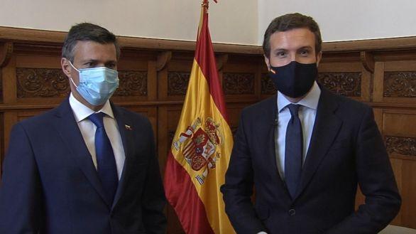 Casado se reúne con Leopoldo López:
