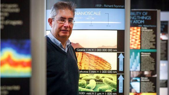 el científico del CIC-nanoGUNE de San Sebastián, Emilio Artacho.