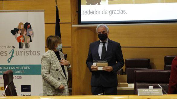 El ICAM reconoce el compromiso por la igualdad de Banco Santander y la CEIM