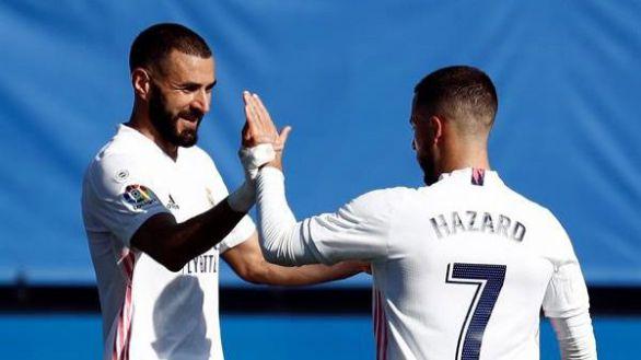 El Real Madrid recupera la sonrisa y a Hazard contra el Huesca | 4-1
