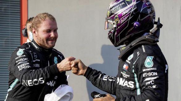 GP Emilia Romagna. Doblete de Mercedes para intentar ganar ya el Mundial